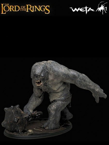 Sideshow Weta The Lord of the Rings Cave Troll Polystone Statue